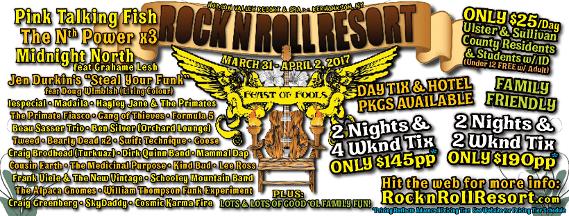 Rock n Roll Resort v7 - Feast of Fools