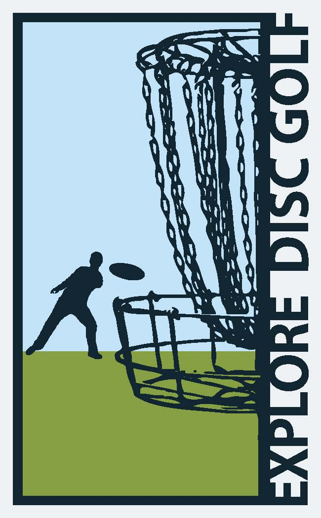 Explore Disc Golf logo
